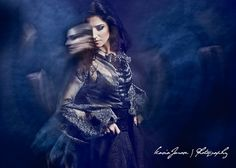 Medieval fashion, gypsy boho, Megitza, artistic creative photography