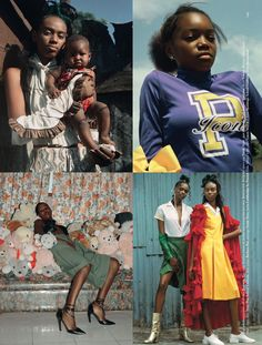 Dazed Fall Images by Eloise Parry. Black Fashion Designers, Black Models, Artist Art, Fall 2016, Contemporary Artists, Lgbt, Fashion Models, Stylists, Editorial