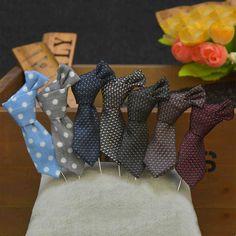 Corea del Clásico Lazo de Los Hombres Cortos De La Boda Pins Broches Forma Hecha A Mano Larga Bowtie Broche Broche Ramillete Boutonniere