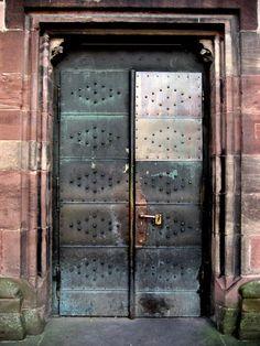 Huge metal door!