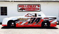 Travis Holloway Pure Stock dirt wrap by HP Graphics Dirt Car Racing, Race Cars, Car Pics, Car Pictures, Street Stock, Vintage Race Car, Car Wrap, Car Humor, The Body Shop