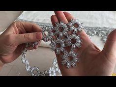 Arpa Boncuklu Havlu Kenarı Modeli - YouTube
