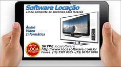 Software para locação software locadora
