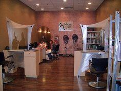 Custom designed hair salon Stations by Tony Viscardi  www.viscardidesigns.com