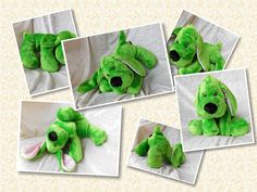 After a long winter #Nature is coming alive again and our eyes and hearts are yearning for GREEN - check out my #handmade very #green #floppypuppy creation for #springtime as an ideal #easter #giftfind : )  #greenpuppy #greendog #greenplushie #greendecor #greenhomedecor #greenspaniel #cockerspaniel #spaniel #dachshund #doxie #applegreen TALLhappyCOLORS.Etsy.com