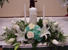 Shannon's Custom Florals Church Wedding Decorations (26)