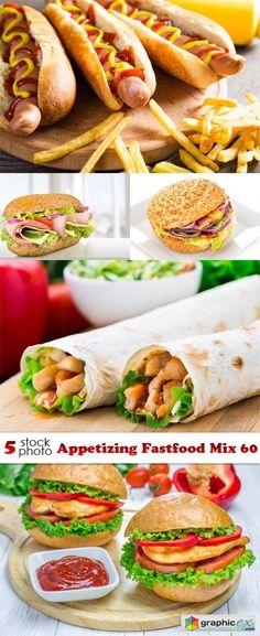 Photos - Appetizing Fastfood Mix 60