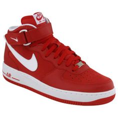 online store 758b5 7efa6 Nike Airforce 1 red white