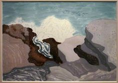 Milton Avery Breaking Wave, 1948. Watercolor and gouache on paper