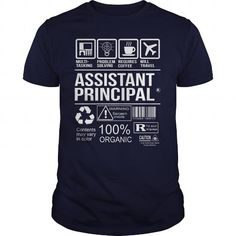 Awesome Tee For Assistant Principal