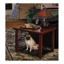 Midwest Homes For Pets Classic Collection Heritage Wood Crate Cover