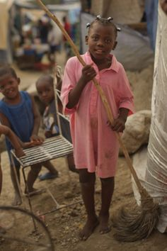 Mopping Haiti- a beautiful post about a woman's first experience in Haiti