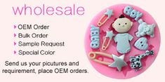 Silicone Molds Wholesale - Fondant, Soap, Cake, Clay, Candy Molds