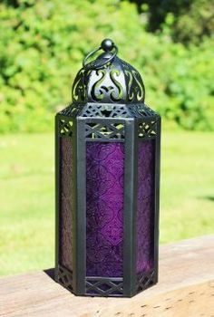 Morrocan candle holders