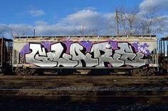 Image result for train graffiti