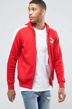 Puma Windbreaker Jacket In Red 57151807 - Red