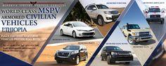 Best Bulletproof Vehicles ETHIOPIA