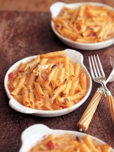Barefoot Contessa - Recipes - Penne with Five Cheeses