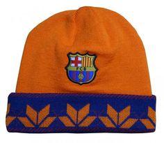 144ec659683 FC Barcelona Style Beanie (Flake Foldover) Fcb Barcelona