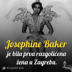Ova izazovna tamnoputa plesačica, pjevačica i glumica unijela je nemir među građanstvo.  Muškarci su željno iščekivali nastup kako bi uživo vidjeli atribute popularne plesačice, a žene su govorile kako ovoj palandri nije mjesto u kulturnom Zagrebu.  Odsjela je u Zagrebu pet dana u hotelu Esplanade gdje je i nastupala 1929. godine. Zagrepčanci su ju odmah prozvali Pepica Bekerica. #ZagrebFacts #Zagreb #ZG #Agram