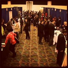 #MontereyInstitute Career Fair = Lots of employers! #careers #BeTheSolution
