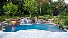 luxus pool noch ein toller luxus pool im garten