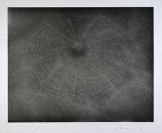 Vija Celmins, Untitled (Web 3), 2002 (aquatint and drypoint)