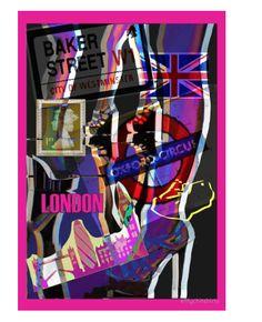 Graphic Print London Design