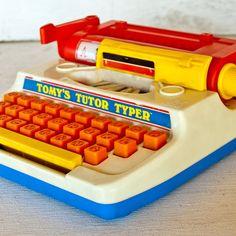 Tomy's Tutor Typer.  Good times! As my sister Amber called it a typerwriter!