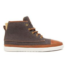 Chambers Canvas Shoes Chestnut design inspiration on Fab. Black Shoes, Men's Shoes, Shoe Boots, Shoes Sneakers, Canvas Sneakers, Fashion Shoes, Mens Fashion, Fab Life, Facon