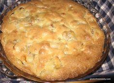 gluten-free apple pie, crustless apple pie, dessert, recipe, Shirley Braden, gluten free easily