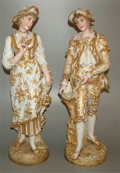 french lady figurines | Share on facebook Share on Twitter Share on Pinterest Share on Email ...