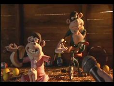 Creature comforts - What´s all about.    Aardman animations.