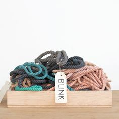 BLINK cotton rope dog leashes