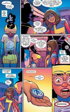 Ms Marvel from Moon Girl & Devil Dinosaur #10