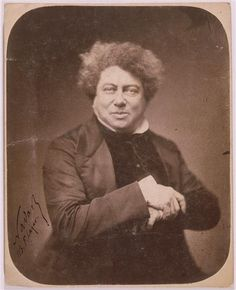 Alexandre Dumas, wrote The Three Musketeers series, the Nutcracker, and The Count of Monte Cristo (to name just a few).