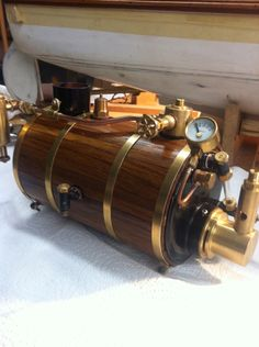 launchJCW Steam Boats, Steam Engine, Boat Plans, Boiler, Metal Crafts, Art Nouveau, Engineering, Minis, Engine