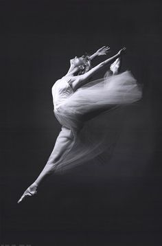 fly on the wings of love, love for dance. so much elegance!