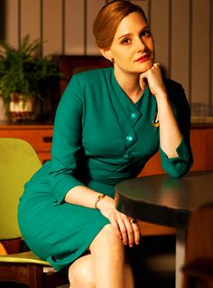 Romola Garai in The Hour. and i absolutely fancy Bel's style in The Hour. she's beautiful and for sure.. great actress.