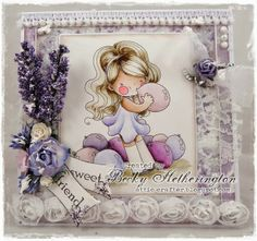Cards By Becky: Lisbeth & Balloons