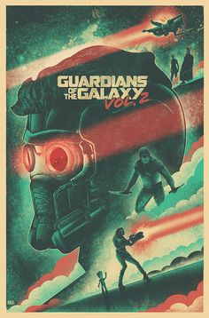 Guardians of the Galaxy Vol. 2 Illustrated Poster on Behance