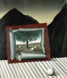 magritte -- les signes du soir, 1926 (by mimi sato)