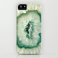 Agate Crystal iPhone & iPod Case by Santo Sagese