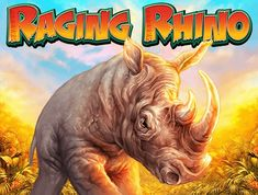 Play Raging Rhino, a game featuring one the most powerful animals in a jungle & you can use that power to win hefty riches at Goldman Casino! Free Slots Casino, Online Casino Slots, Online Casino Games, Best Online Casino, Online Casino Bonus, Best Casino, Live Casino, African Jungle, Games For Fun