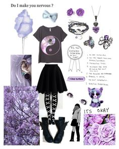 """""""Purple"""" by acehearts567 ❤ liked on Polyvore featuring Bling Jewelry, Silver Luxuries, Chicwish and Robert Pelliccia"""