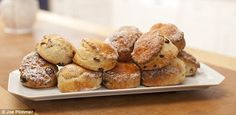 Mary Berry's buttermilk and sultana scones