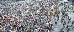 30 mil protestam nos arredores do Castelão durante o jogo Brasil x México em Fortaleza. 19/06/2013.