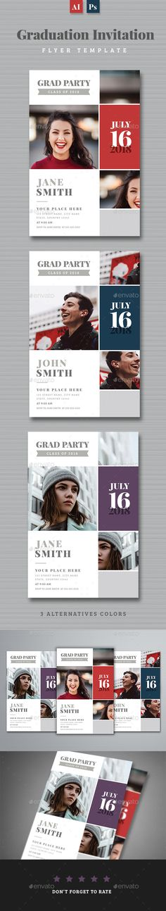 #Graduation Invitation - Invitations #Cards & #Invites