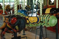The Carousel Works - Bronx Zoo's all-insect carousel
