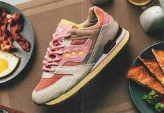Feature x Saucony Courageous 'Bacon & Eggs'